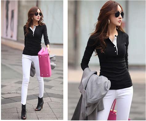 Waist Slim Dress Pakaian Terusan Wanita Blue V Back Lace S 320384 baju trendy wanita korea