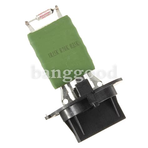 how to replace heater resistor on peugeot 206 peugeot 206 307 citroen xsara picasso heater blower motor resistor 6450jp us 10 99
