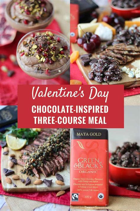 valentines chocolate recipes s day chocolate inspired three course meal