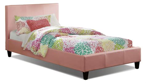 pink twin bed chase twin bed pink the brick