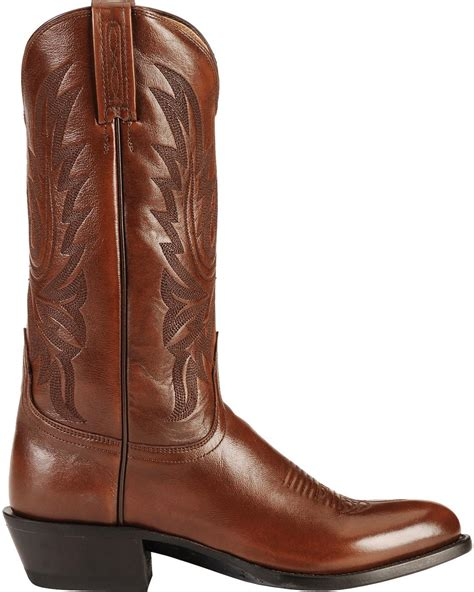lucchese handcrafted lonestar calf cowboy boots medium