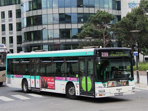 si鑒e de la ratp trans phototh 232 que autobus nl 223 ratp