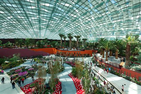 New Build Homes Interior Design by Singapore S Gardens By The Bay Feature The World S Largest