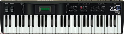 Keyboard Roland X5d korg x5 search images 3 4 audiofanzine