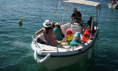boat hire kassiopi prices seastar 31 corfu kalami boat hire blue bay boats