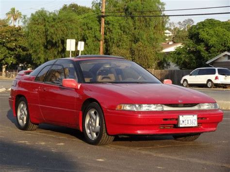 find used 1 owner 93 subaru svx coupe ls l alcyone 3 3l f6 flat 6 awd fast tuner in san diego