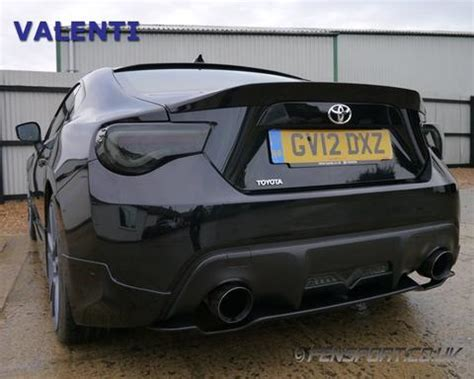 valenti led tail lights  sequential smoke gt brz fensport