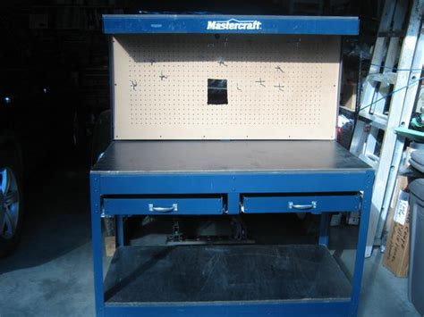mastercraft work bench mastercraft workbench with drawers and vice grip west
