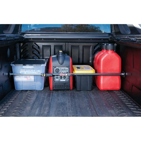 truck bed cargo bar ratcheting cargo bar