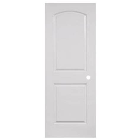 home depot white interior doors steves sons 24 in x 80 in 2 panel round top smooth