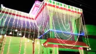 Home Lighting Decoration by Home Lights Decoration On Wedding Ceremony Youtube