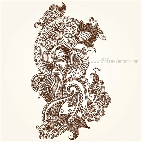 adobe illustrator paisley pattern paisley designs free download free vector art free vectors
