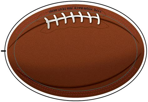 football templates how to make football buttons busy beaver