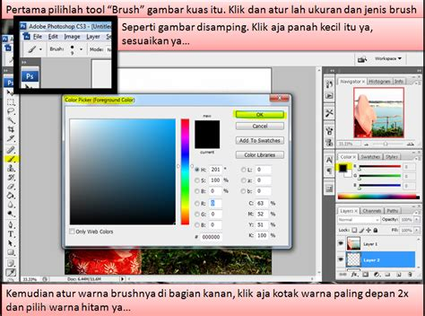 tutorial photoshop kartun tutorial kartun dakwah dengan photoshop irmalasmk1