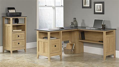sauder august hill l shaped desk sauder l shaped desk dover oak finish 28 images