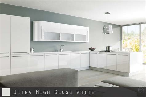 high gloss white kitchen cabinet doors ultra high gloss white kitchen doors cabinetsanddoors co uk