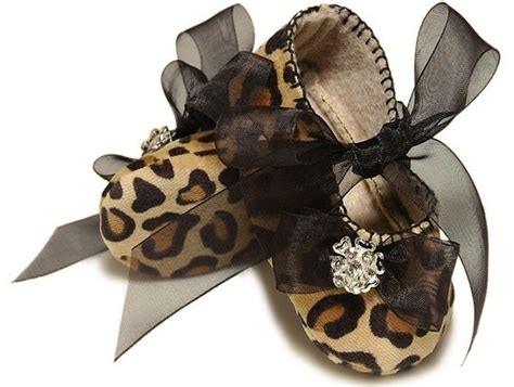 Baby Animal Shoes leopard print baby shoes its a small world