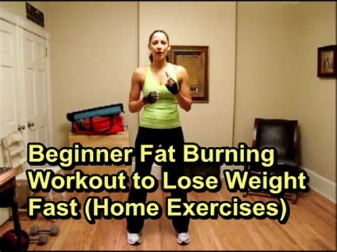 beginner burning workout to lose weight fast 1
