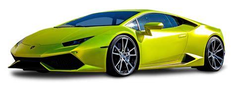 lamborghini png lamborghini huracan green car png image pngpix