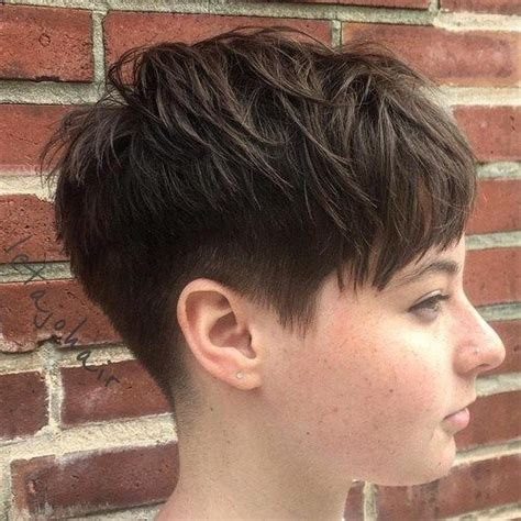 hairstyle for long face women and big ears pixie undercut round face www pixshark com images