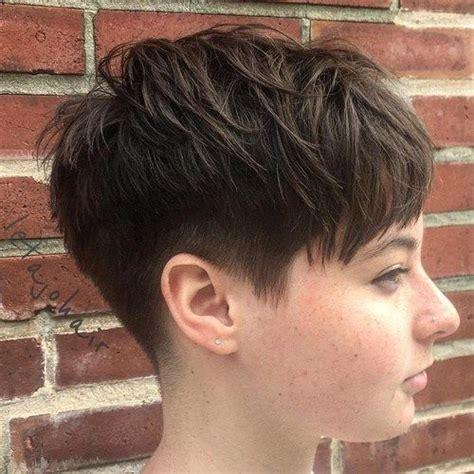 cut front of face hair cut around the ears pixie undercut round face www pixshark com images