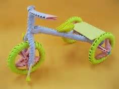 3d origami tricycle tutorial 1000 images about 3d origami art on pinterest 3d