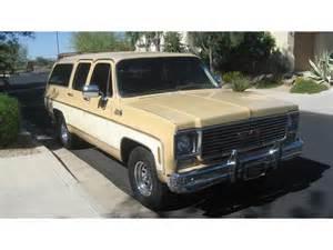 1977 gmc suburban for sale classiccars cc 597624