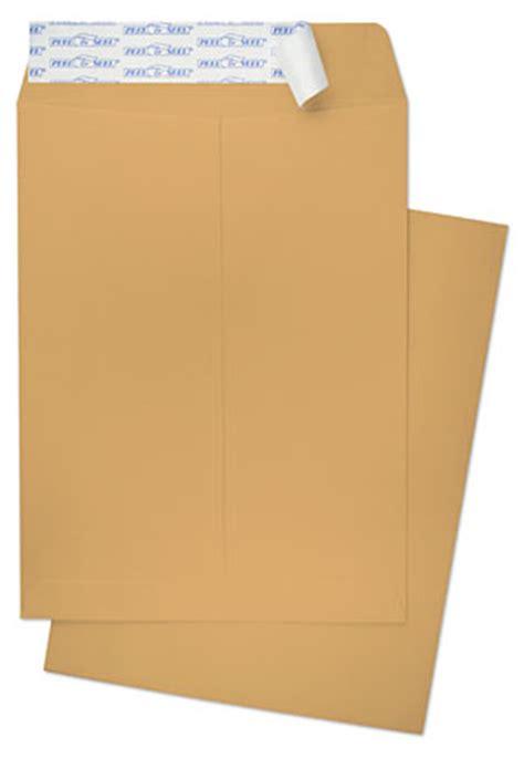 10 X 13 Catalog 28lb Brown Kraft Peel And Seel Catalog Envelopes Paoli Envelope 10x13 Catalog Envelope Template