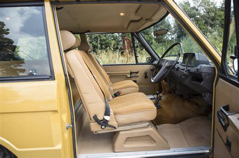 vintage land rover interior colin chapman s range rover classic