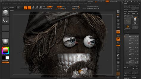 zbrush tutorials gt what s new in zbrush 4r6 tutorial master the human face with hosein diba in zbrush cg tutorial