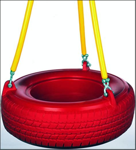 tire swing parts plastic tire swing 3 soft grip rubber chains pt10