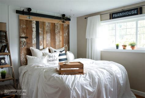 recycled door headboard funky junk interiors interior decorating with salvaged