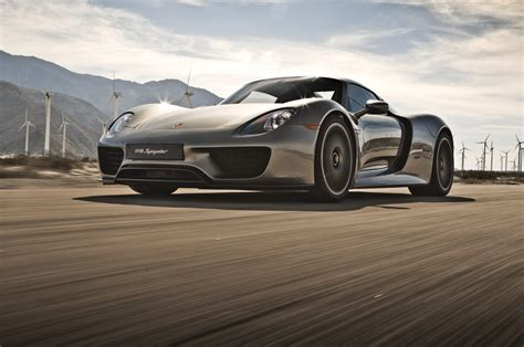 porsche 918 exterior 2015 porsche 918 spyder front three quarter in motion photo 16