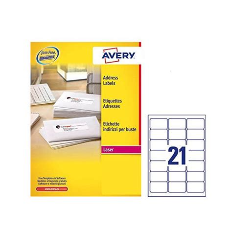 template for address labels 21 per sheet avery address laser labels 21 labels per sheet 100