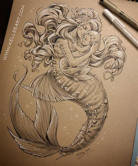 realistic mermaid tattoo best 25 mermaid artwork ideas on