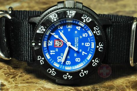 Luminox Tirana Set Box Blue luminox series 3000 3900 original navy seal with blue 3003 sansom watches rolex