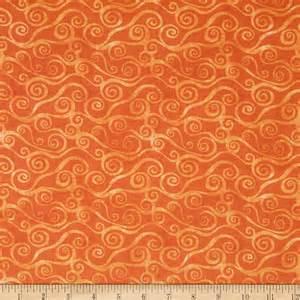 quilting fabric blenders oranges discount designer
