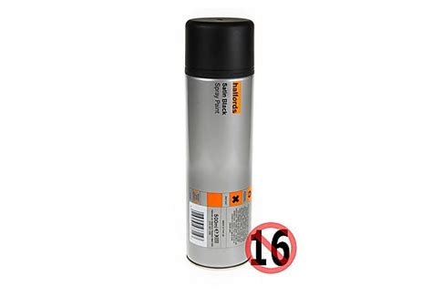 spray paint halfords halfords halfords satin black spray paint 500ml