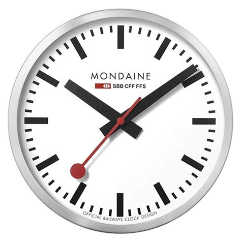 mondaine wall clock mondaine wall clock large buy and offers on dressinn