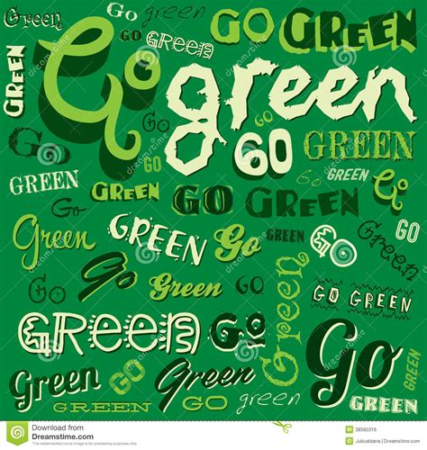 go green city background stock vector image of media go green eco word background stock photo image 38565316