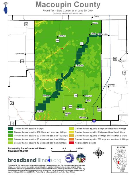 Macoupin County Search Macoupin County Maps Broadband Illinois