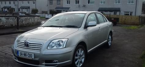 Toyota Avensis Petrol 2004 Toyota Avensis 16 Petrol Nct 31032017 For Sale In