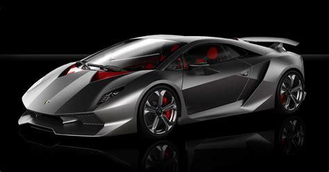 Inside Black Car : 2011 Lamborghini Sesto Elemento