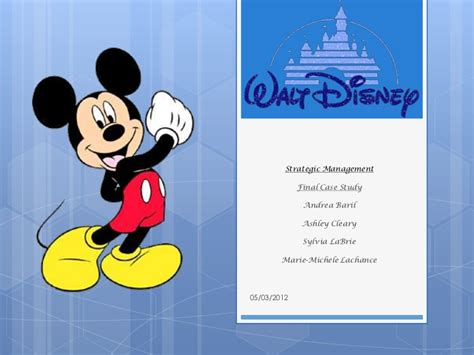 Walt Disney Ppt Walt Disney Powerpoint Template