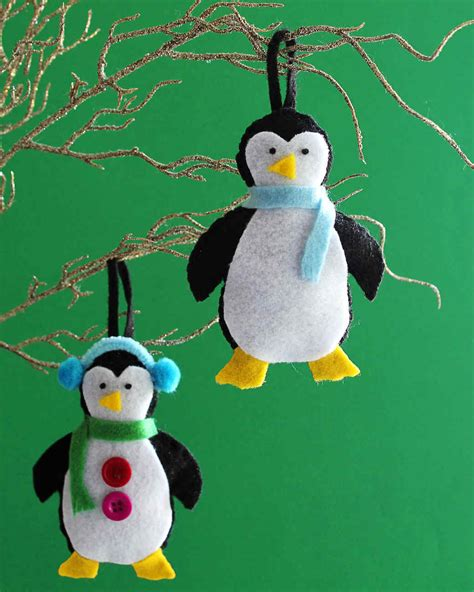 Attractive Customizable Christmas Ornaments #2: Felt-penguin-ornaments_vert.jpg?itok=6qCexN8N