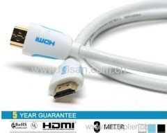Kabel Hdmi Vention 3m H450hdf High Speed Flat Metal Braided V2 0 1 china high speed hdmi cable lan cable patchcord cable manufacturer and supplier