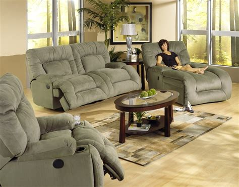 Jackpot Reclining Chaise Catnapper by Jackpot Power Reclining Chaise Sofa In Microfiber