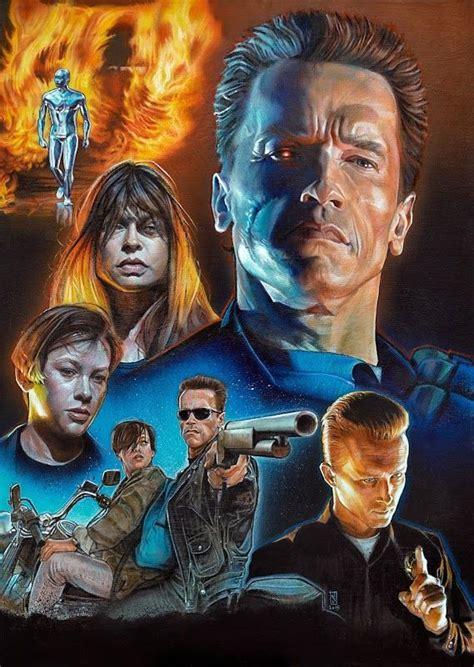 Kaos Terminator Arnold terminator 2 poster poster in 2018
