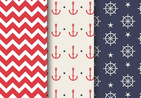 nautical pattern vector free free sea nautical pattern download free vector art