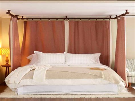how to build a canopy bed bloombety how to make canopy bed drapes with brown color